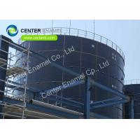 Center Enamel Glass - Fused - To - Steel Waste Water Storage Tanks For Wastewater Treatment Projects