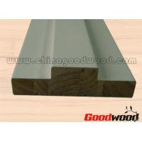Quality Primed FJ Pine Wooden Mouldings Door Frames Door Stop and Stile for sale