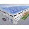 A572 Prefabricated Steel Warehouse , Modern Prefab Commercial Buildings for sale