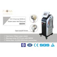 Quality 810nm Alexandrite Laser Hair Removal Equipment , Salon Laser Hair Removal Machine 600W for sale
