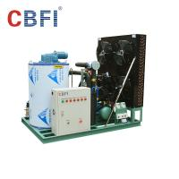 Quality 316 Stainless Steel 3 Ton Saltwater Flake Ice Machine Low Power Consumption for sale