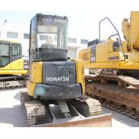 Buy 28.5HP Construction Machines Used Mini Crawler Backhoe Excavator at wholesale prices