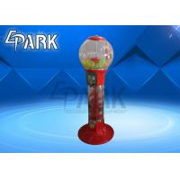 China 1 Player Amusement Capsule Toy Gumball Machine / Candy Gift Vending Machine on sale