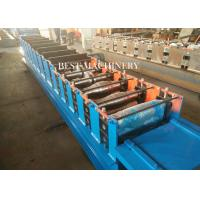 Hydraulic Cutting Metal Cold Hat Purlin Roll Forming Machine , Material Thickness 1-3mm