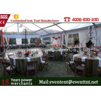 China Clear Span Tent Customized Exhibition Display marquee With European Standard Frame Structure on sale