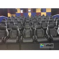 Buy 220V 5D Motion Theater System , Luxury Electric 3DOF 5D Seats With Genuine Leather at wholesale prices