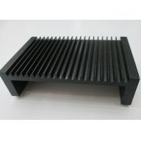 China Black Anodized Aluminium Heat Sink Profiles , Extruded Aluminum Heatsink Radiators on sale