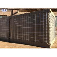 Buy cheap Spiral Wire Joined Sand Filled Military Perimeter Security Hesco Barrier Wall Homemade Protection from wholesalers