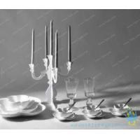 Quality CH (39) smoked Acrylic candle holder for sale