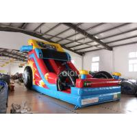 Quality Inflatable Crazy Racing Car Slide  for slae for sale