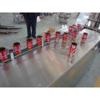 Buy Automatic Canned Juice Filling Machine Washing Capping For Apple / Orange / Pineapple at wholesale prices