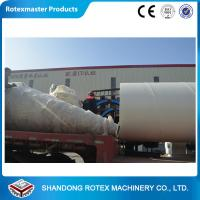 Wood chips , Sawdust Rotary Drum Dryer GHG 1.5 * 18  0.42-0.85 T/H for sale