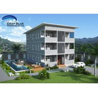 Quality SOHO Steel Structure Prefab Apartment Buildings for sale