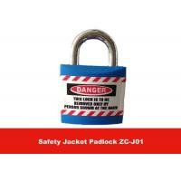 Quality 20.4mm Metal Lock Body Inside ABS Lock Housing Safety Jacket Lockout Padlock for sale
