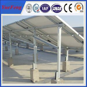Quality Ground Solar Mounting Racks, Aluminum Racks for Solar Panels for sale