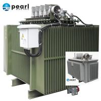 Quality Compact Size Oil Immersed Transformer 6.6 kV - 1250 kVA Eco Friendly Three Phase for sale