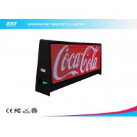 Quality Two Sided Super Slim Taxi Led Display With 5mm Pixel Pitch And Aluminum Shell for sale