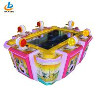 Metal Pink Fishing Season Arcade Coin Operated For 6 Players 12 Month Warranty