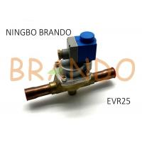 Quality Danfoss Type 032L2205 EVR 25 Solder Connection Servo Operated Solenoid Valve With Coil Assembled for sale