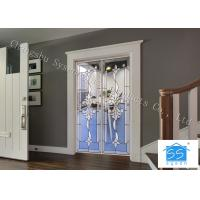 Quality Double Pane Sliding French Doors , Interior / Exterior Glass Sliding Doors for sale