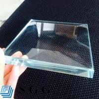 Buy cheap Top quality 15mm low iron glass from wholesalers