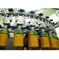 Quality Complete Mini Automated Fresh Fruit Juice Making Production Line With CIP Cleaning System for sale