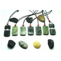 China Customized USB flash drive in real jade stone material with logo attached string (MY-U270) for sale