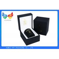 Quality Hot Stamping Logo Luxury Gift Boxes And Bags Wooden And Leather Material for sale