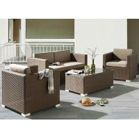 Hotel Poly Rattan wicker Patio Furniture Aluminium Outdoor Garden sofa sets for sale