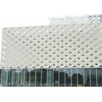 China FS Antibacterial Board Exterior Wall Decorative Facade Material Aluminum Facade Panel on sale