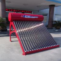 China Non Pressure Color steel thermosiphonic compact solar hot water heater 250L on sale