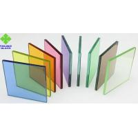 PVB Film Laminated Glass Sheets Various Colors For Architectural Glass