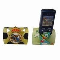 Quality Silicone Mobile Phone Holders, Durable, 2D or 3D Design, Sizes and Customized Logos Accepted for sale