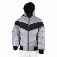 Quality Men's winter jacket, water-repellent, classic for sale