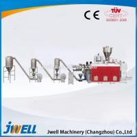 Quality Jwell high output WPC granulation machine/ granule making machine price for sale