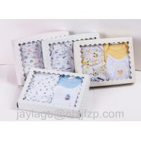 Quality 5pcs Newborn Baby gift sets  100% cotton with emb for sale