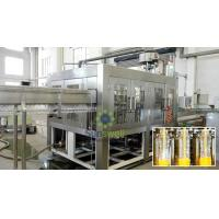 Buy cheap High Capacity 500ml Hot Filling Machine Plastic Bottled Gravity Filling from wholesalers