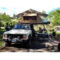 Quality Family Travel Off Road Roof Top Tent Tear Resistant With High Density Foam Mattress for sale