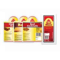 Quality Healthy Safety Custom Food Sticker Labels Customized Logo Used In Supermarket for sale