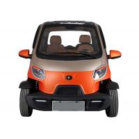 2 Passenger Mini Electric Car 55km/H Maximum Speed Air Conditioner 4 Wheels