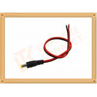 Quality Custom Cable Assembly Red And Black With Male Connector , Camera Power Cable for sale