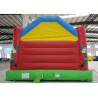 Buy 0.55mm Pvc Tarpaulin Indoor Inflatable Bounce House , Toddler Jump House Double at wholesale prices
