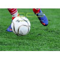 China PE Material Football Field Artificial Grass 50mm Pile Height 11000 Dtex on sale