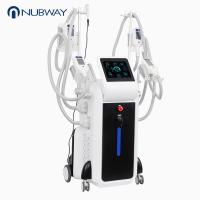 China Best selling four cryo handles work together body slimming cryolipolysis cool slimming beauty machine for fat reduction on sale