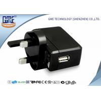 Quality Black White Bright Black 100-240V 5V 500mA USB Wall Charger for Audio Equipment for sale