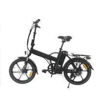 China 250W 36V Mini Folding Electric Bike Brushless Aluminum Alloy Frame / Fork on sale