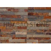 Quality Garden House Manufactured Stone Panels , Cultured Stone Sheets Natural Finish for sale