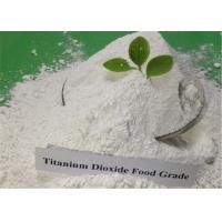 Quality Food Grade Titanium Dioxide Products TiO2 White Powder CAS 13463-67-7 for sale