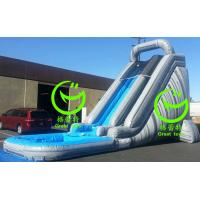 Quality water slide inflatable with 24months warranty from GREAT TOYS for sale