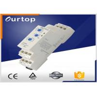Quality SPDT ( 1NO + 1NC ) Multifunction Timer Relay 5% Mechanical Setting 5A Rated  Current A for sale